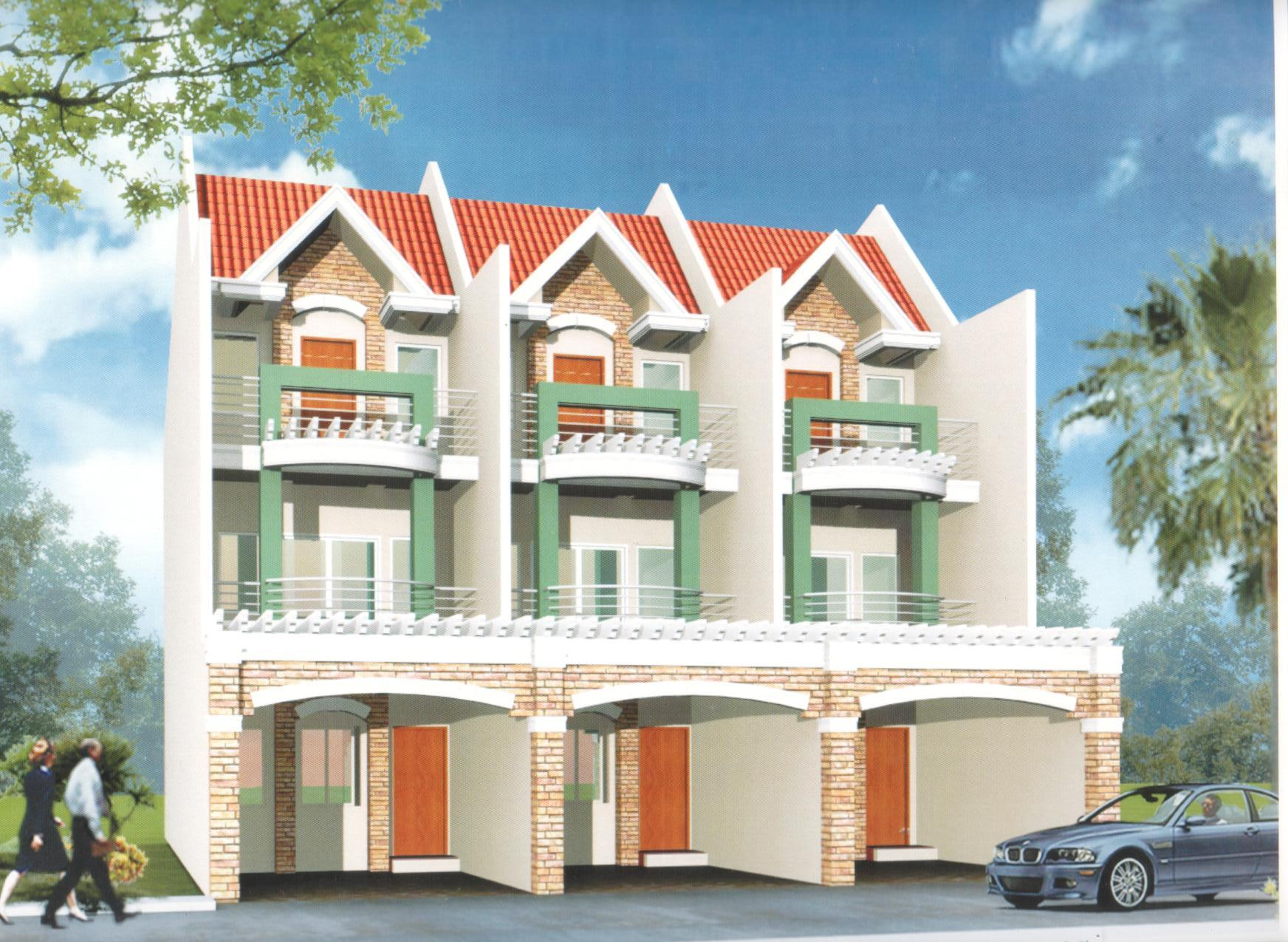 Three Storey Apartment Designs